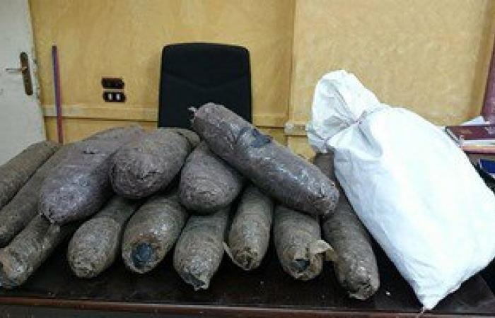 مكافحة المخدرات تضبط 4 تجار قبل ترويجهم 15 كيلو بانجو و13 ألف قرص مخدر