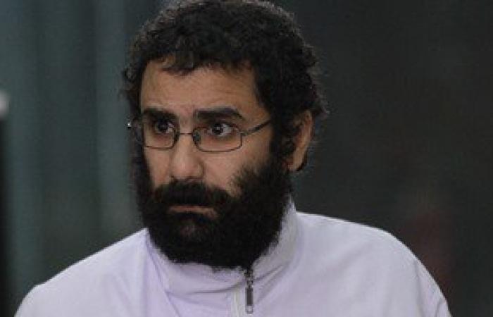"""اليوم.. الحكم على علاء عبد الفتاح و24 آخرين فى """"أحداث الشورى"""""""