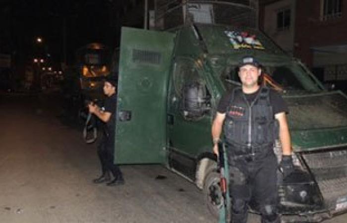 ضبط مخزن مخدرات و172 مخالفة مرورية و60 محكوما عليهم فى شمال سيناء