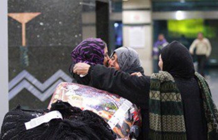 مطار القاهرة يستقبل 227 مصريا عائدا من ليبيا عبر تونس