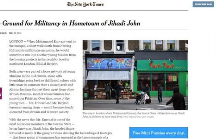 """نيويورك تايمز: لندن """"مرتع"""" جماعة تكفيرية أرسلت الشباب للصومال وسوريا"""