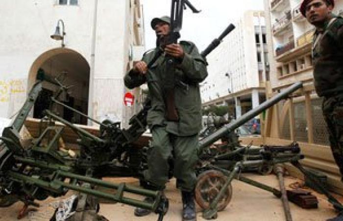 جماعة أنصار الشريعة الإرهابية تقصف أحياء سكنية فى بنغازى بالهاون