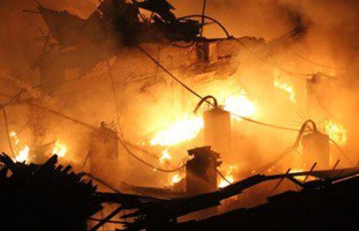 """ننشر أسماء المصابين فى حريق مصنع الطوب بـ""""زفتى"""""""