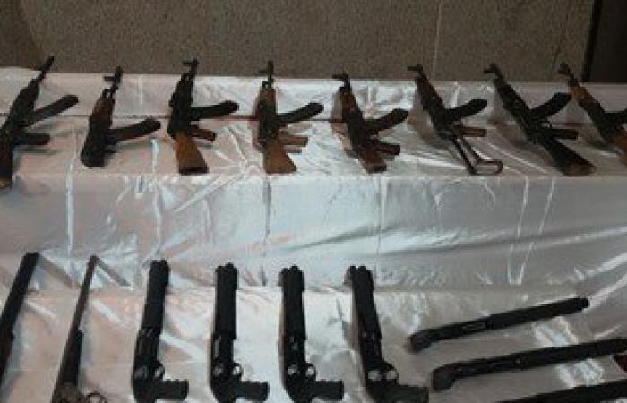 الأمن العام يضبط 630 قطعة سلاح و261 تاجر مخدرات و8 عصابات
