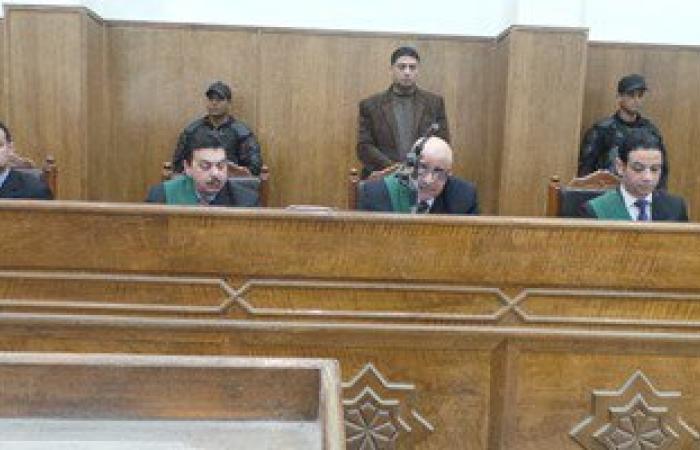 وصول الإخوان المتهمين فى قضية أحداث شغب مستشفى المعلمين بسوهاج