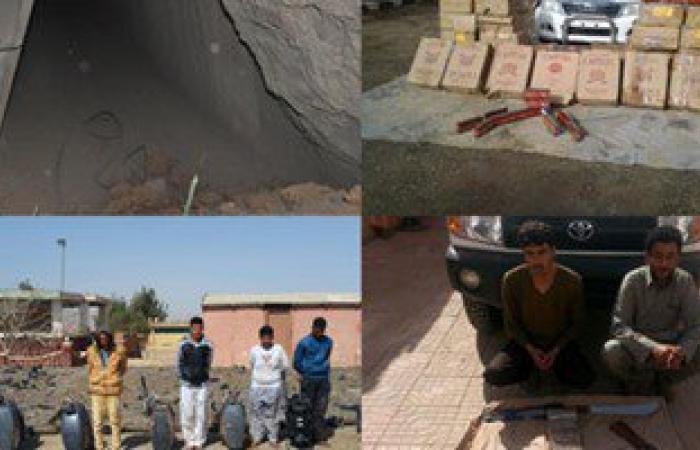 حرس الحدود يدمر 3 عربات معدة للتفجير عن بعد فى شمال سيناء
