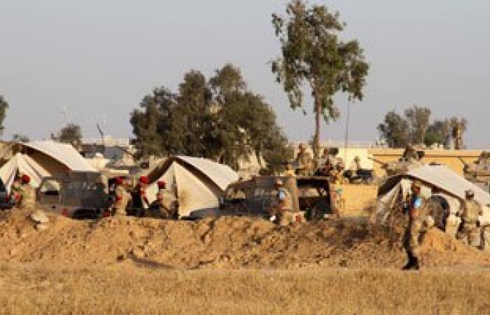 مقتل 11 إرهابيا وضبط مخزن أسلحة وتدمير 3 منازل وسيارتين بشمال سيناء