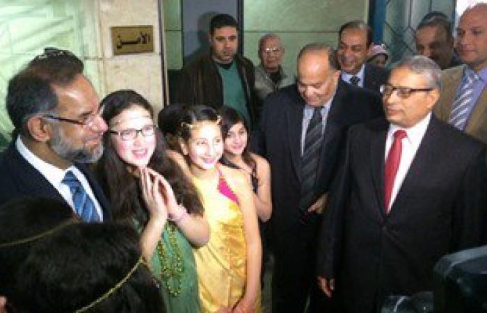 """محافظ الدقهلية يستقبل السفير الهندى بالقاهرة """"مافديب سورى"""""""