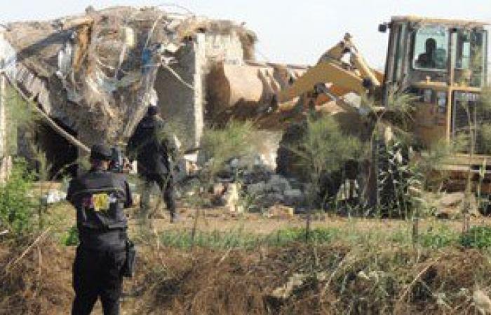 إزالة 13 حالة تعدٍ على الأراضى الزراعية وأملاك الدولة بسوهاج