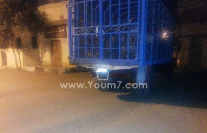 محافظ الأقصر يضبط شاحنة محملة بـ100 أسطوانة بوتاجاز مهربة