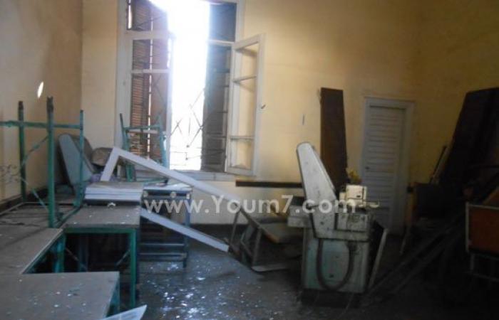 أول صور لانفجار قنبلة بمحطة سكك حديد كوم أمبو بأسوان
