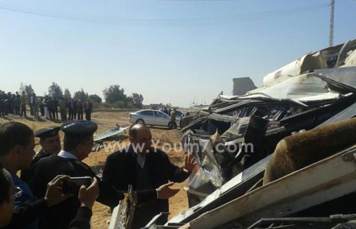 وفاة حالتين جديدتين من ضحايا حادث أتوبيس الشروق