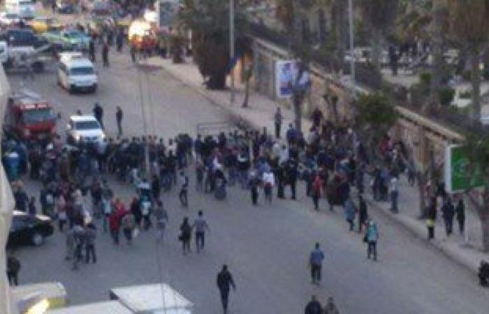 """انفجار """"محدث صوت"""" بجوار مكتبة الإسكندرية دون إصابات"""