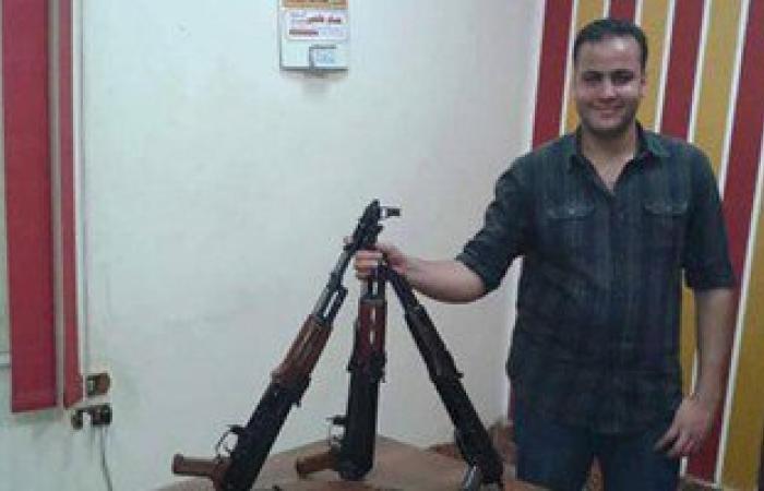 ننشر أول صورة للضابط الشهيد كريم هنداوى ضحية الهجوم المسلح  بمطروح