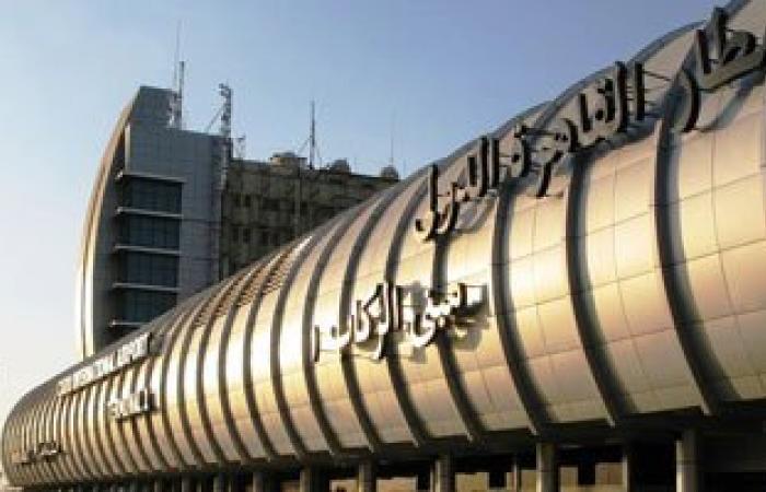 مطار القاهرة يستقبل 136 مصريا عائدين من ليبيا فى رحلة جديدة لمصر للطيران
