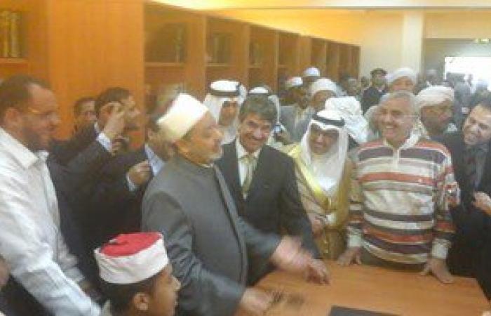 شيخ الأزهر وسفير الكويت يفتتحان مشاريع خدمية بمحافظ الأقصر