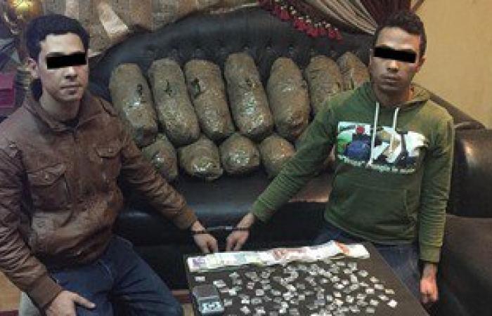 القبض على شقيقين بحوزتهما 50 كيلو بانجو و300 جرام هيروين بدمياط
