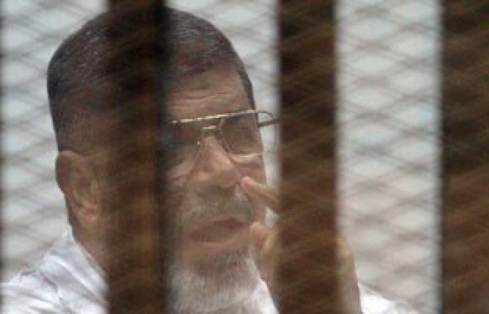 """تأجيل محاكمة مرسى و10 من قيادات الإخوان فى """"التخابر مع قطر"""" لـ23 مارس"""