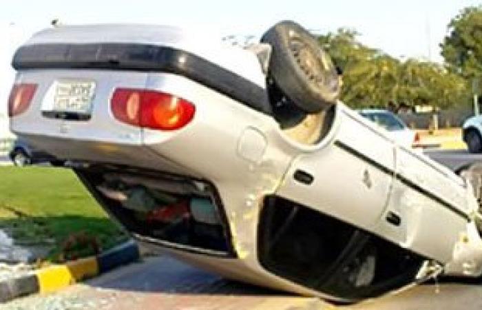 ارتفاع عدد ضحايا انقلاب سيارة رئيس محكمة بصحراوى بنى سويف إلى 3 أشخاص