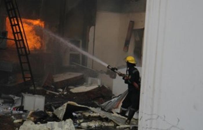 الدفاع المدنى يسيطر على حريق بمحطة وقود بالمنيا