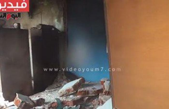 بالفيديو.. آثار انفجار قنبلة بمركز شباب ناهيا بكرداسة (تحديث)