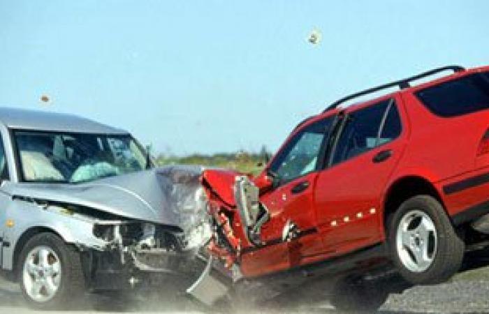 مصرع شخص وإصابة 6 فى حادث طريق بالضبعة