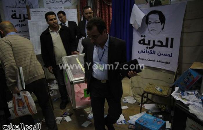 غلق باب التصويت فى انتخابات التجديد النصفى بنقابة الصحفيين وبدء الفرز (تحديث)