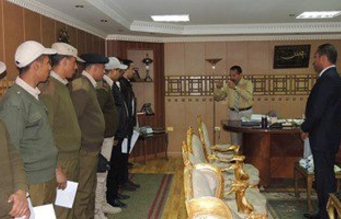 مدير أمن قنا يكرم أفراد قوة أمنية بنجع حمادى ضبطوا 100 كيلو بانجو