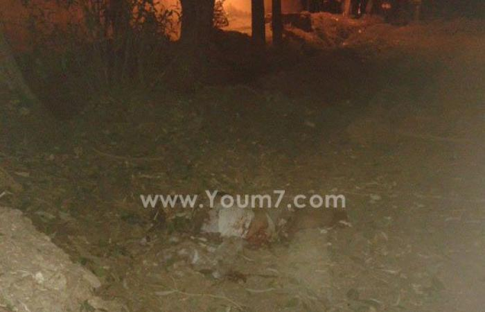 صورة أشلاء أحد إرهابيى قنبلة الحماية المدنية بالإبراهيمية فى الشرقية