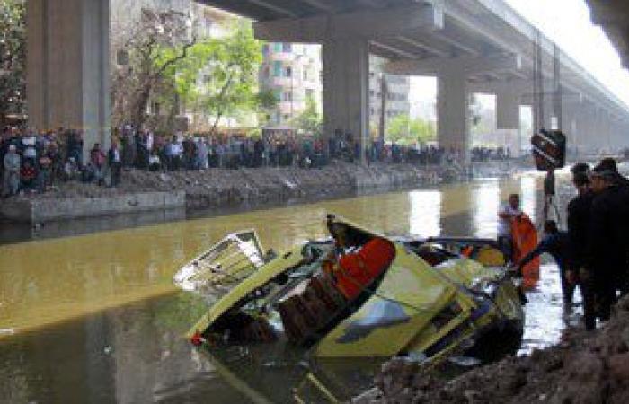 إخلاء سبيل سائق سيارة اصطدم بها أتوبيس أوراسكوم قبل سقوطه بترعة المريوطية