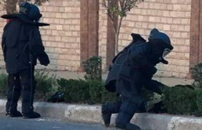 الحماية المدنية: الجسم الغريب بشارع رمسيس اسطوانة فارغة