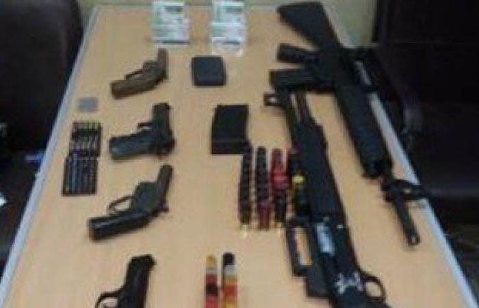 ضبط 4 مسجلين خطر بحوزتهم أسلحة و2 كيلو حشيش بالقناطر الخيرية