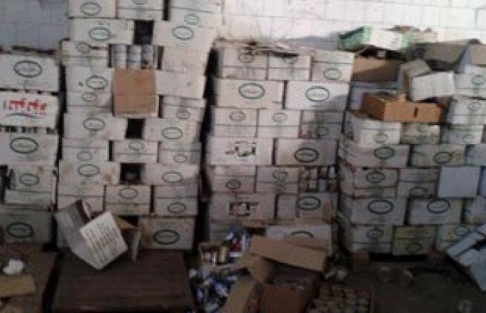 القبض على صاحب مصنع مواد غذائية لإدارته بدون تراخيص فى حلوان