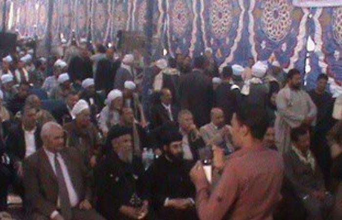 """إنهاء خصومة ثأرية بين عائلتى """"آل شابون"""" و """"آل بهادر"""" بسوهاج"""