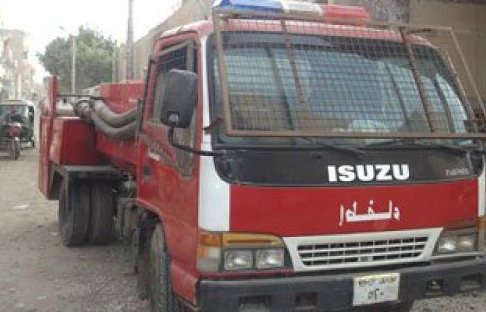 حريق 9 باكيات فى سوق العامرية بالإسكندرية دون إصابات