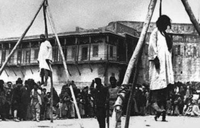 الأرمن فى فلسطين يحيون ذكرى 100 عام على المذبحة