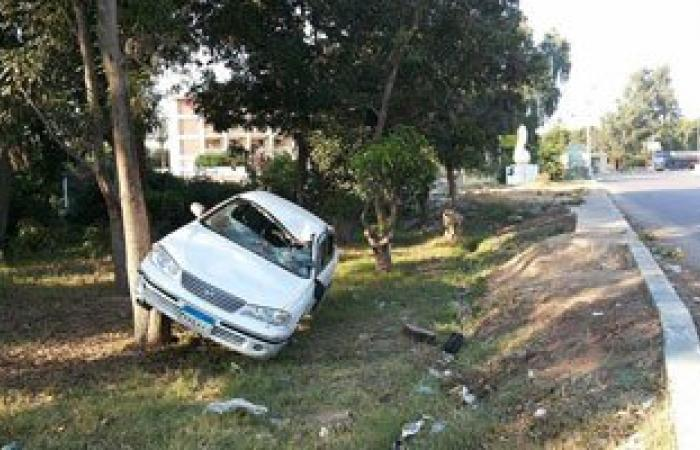 مصرع شخص وإصابة اثنين فى انقلاب سيارة بطريق أبورديس– شرم الشيخ