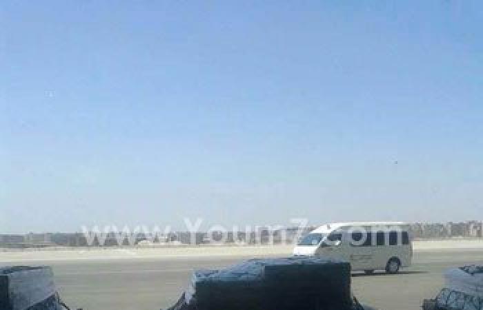 بالفيديو والصور.. مطار القاهرة يستقبل قطعا أثرية مهربة قادمة من نيويورك