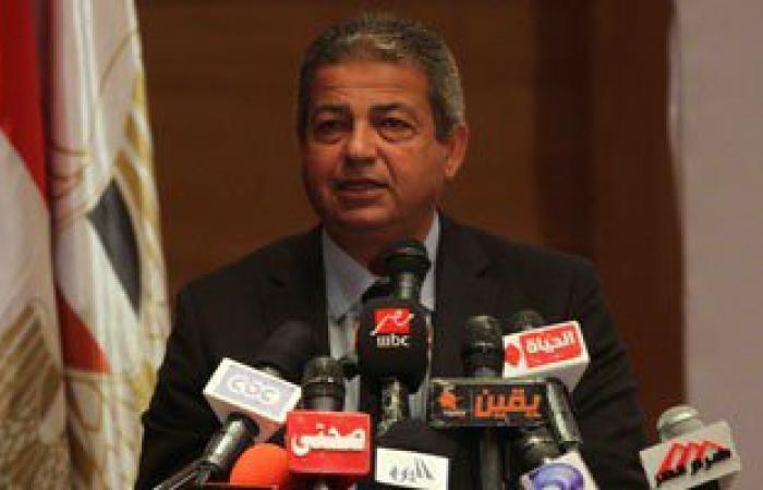 وزير الشباب: إطلاق الألعاب النارية باستاد القاهرة احتفالا بعيد تحرير سيناء