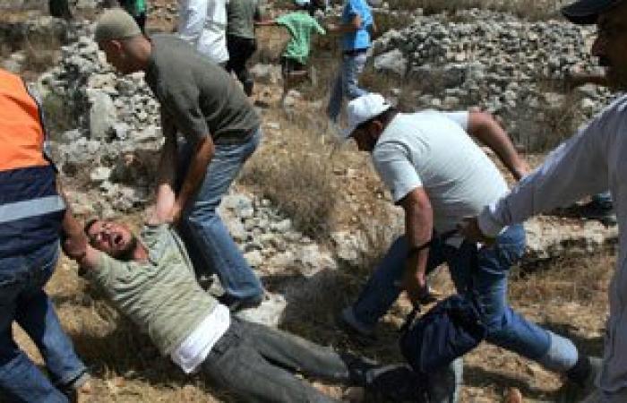 """7 مصابين أحدهم فقد عينه فى """"كفر قدوم"""" برصاص الاحتلال فى قلقيلية"""
