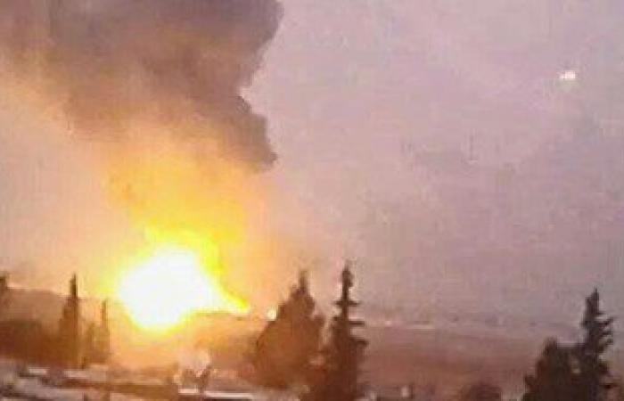 غارات إسرائيلية على مواقع لحزب الله فى القلمون بريف دمشق