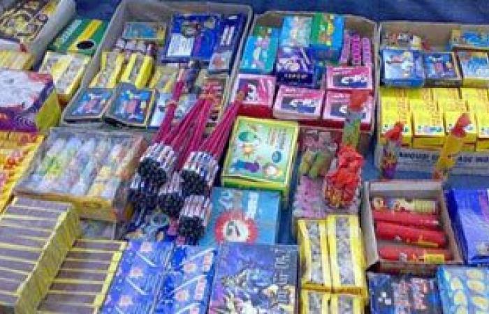 القبض على صاحبى مكتبة وعاطل لبيعهم الألعاب النارية فى القليوبية