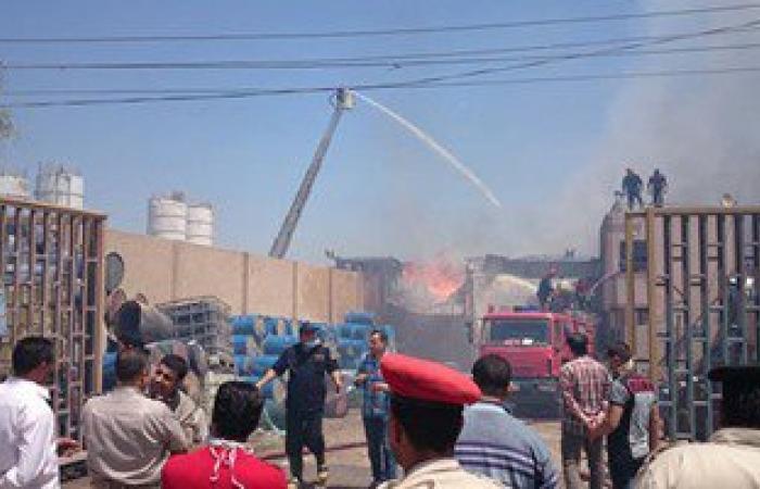 موجز أخبار محافظات مصر.. الجيش يدفع بسيارات لإطفاء حريق مصنع خل بالغربية
