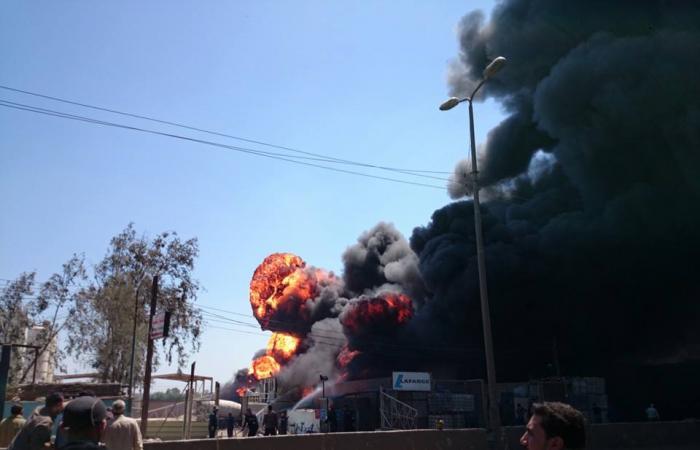 المتحدث باسم وزارة الصحة: 26 مصابا فى حريق مصنع الغربية وتماثلهم للشفاء