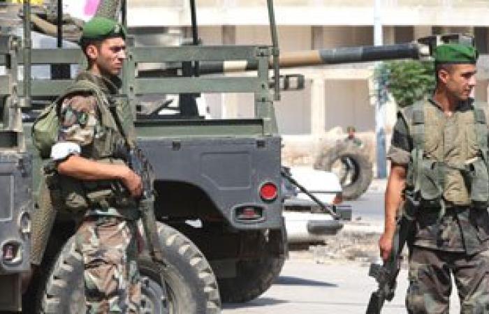 مداهمة مصنع متفجرات فى المرج شرق لبنان وتوقيف 4 عمال سوريين