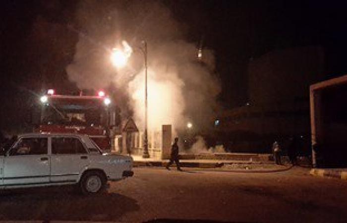 """""""الحماية المدنية"""" تتلقى بلاغا باندلاع حريق ببرجى اتصالات بـ6 أكتوبر"""