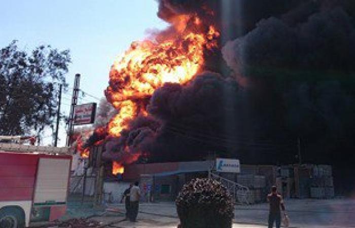 المؤشرات الأولية لحريق مصنع الخل بالغربية: ماس كهربائى وراء الكارثة