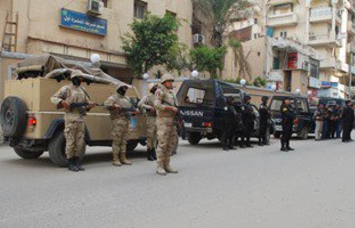ضبط 60 محكوما عليهم وفحص 150 شقة فى حملة أمنية بشمال سيناء