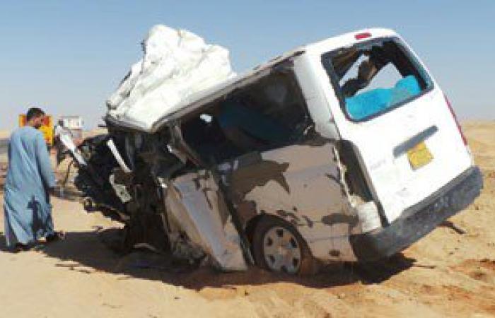 إصابة 5 أشخاص فى حادث مرورى بشمال سيناء