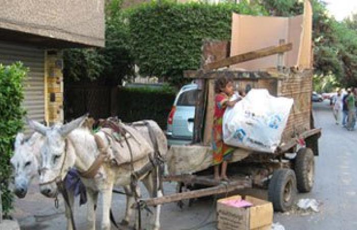 """ضبط سيدتين تقودان """"عربة كارو"""" بمطار القاهرة"""